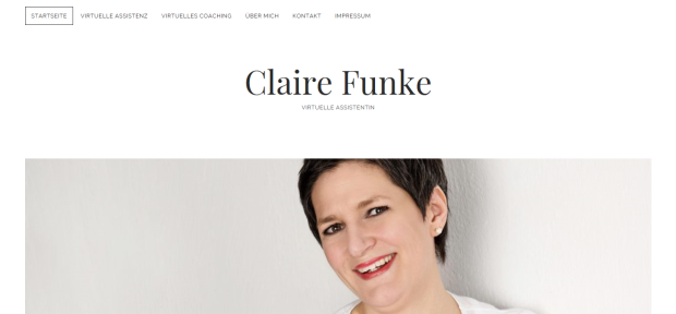 Claire Funke virtuelle Assistentin